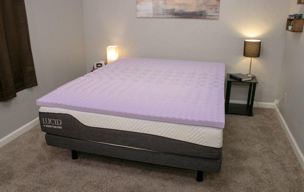 lucid mattress topper review