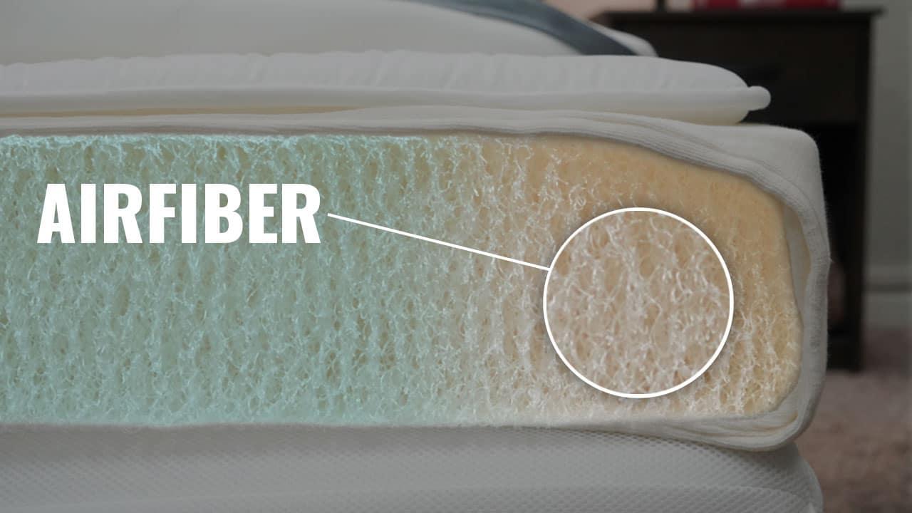 Airweave Mattress Review Construction Airfiber