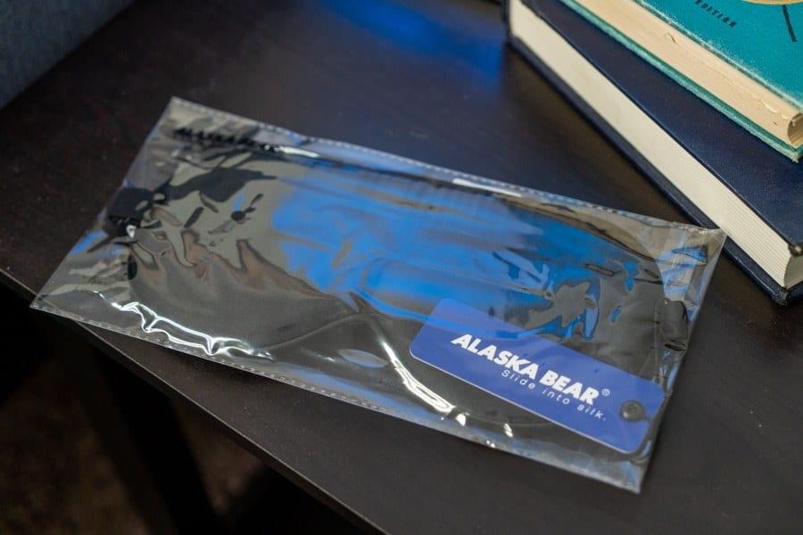 Alaska Bear Sleep Mask Overview