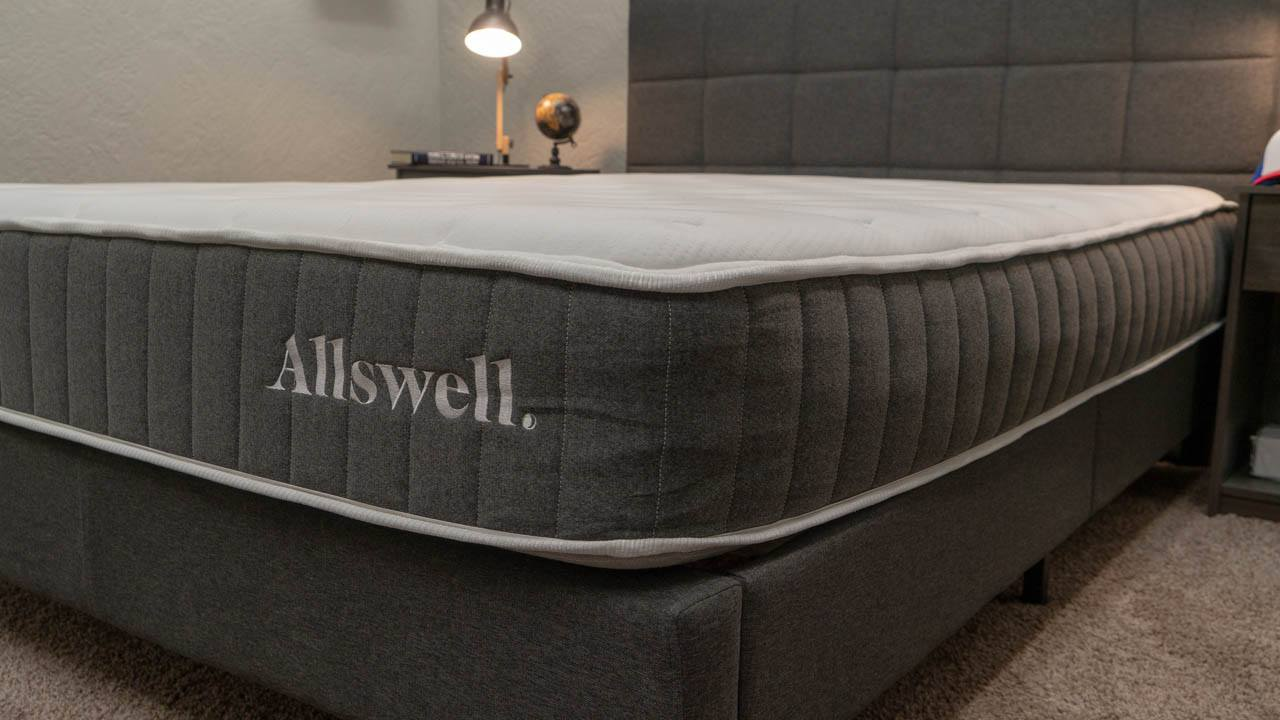 allswell mattress review hybrid bed for heavy people walmart