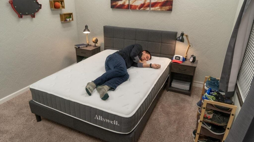 allswell hybrid mattress review side sleeper