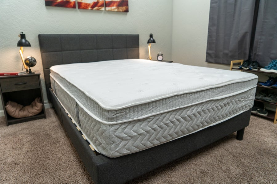 Allswell Supreme mattress review overview shot