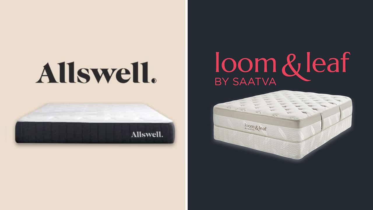 Allswell vs Loom and Leaf Mattress
