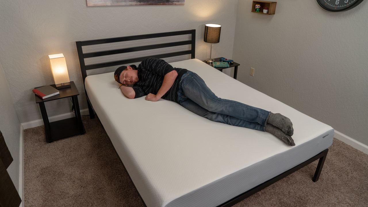 amazon basics side sleeper mattress