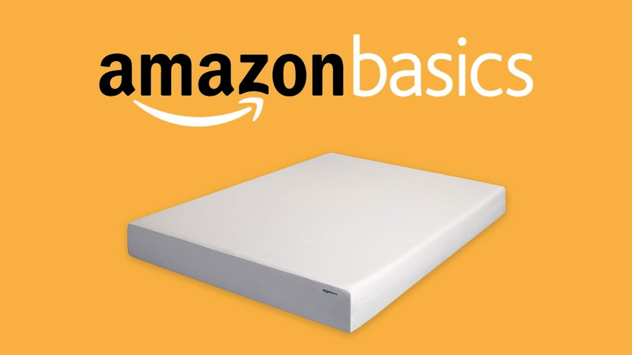 amazon memory foam bed AmazonBasics Mattress Review | Budget Bed In A Box (Just Updated) amazon memory foam bed