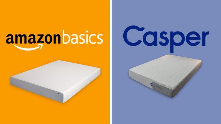 AmazonBasics vs Casper Mattress