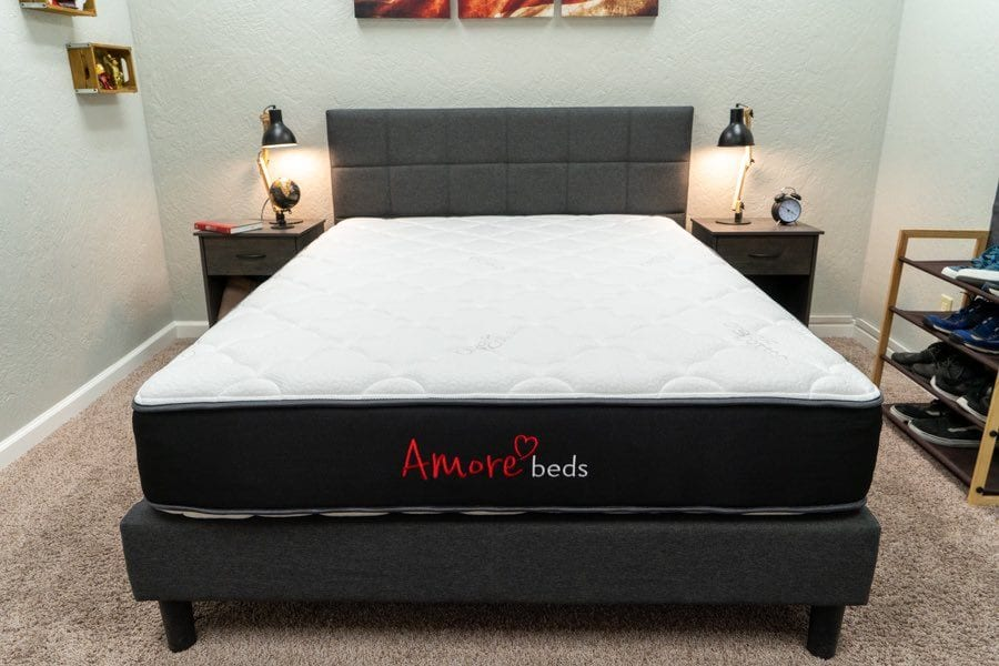 amore mattress review flippable
