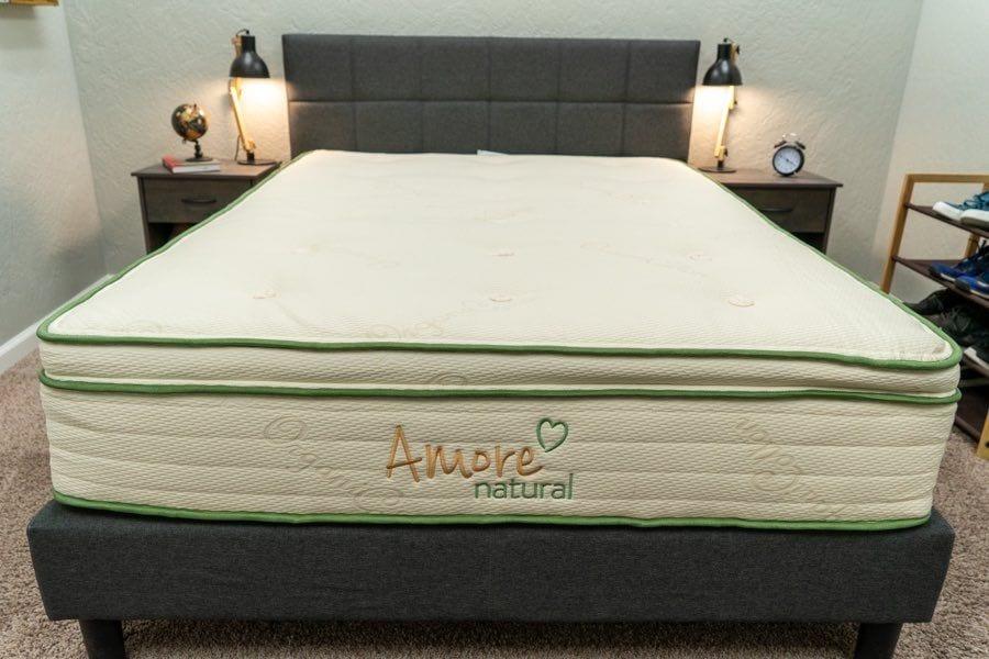 amore mattress review natural latex hybrid