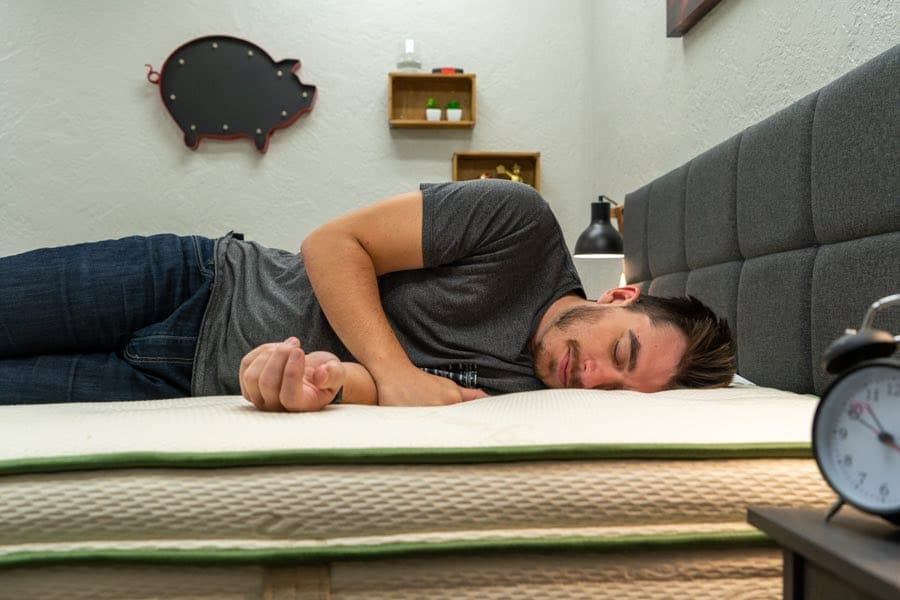 amore mattress review natural latex hybrid side sleepers