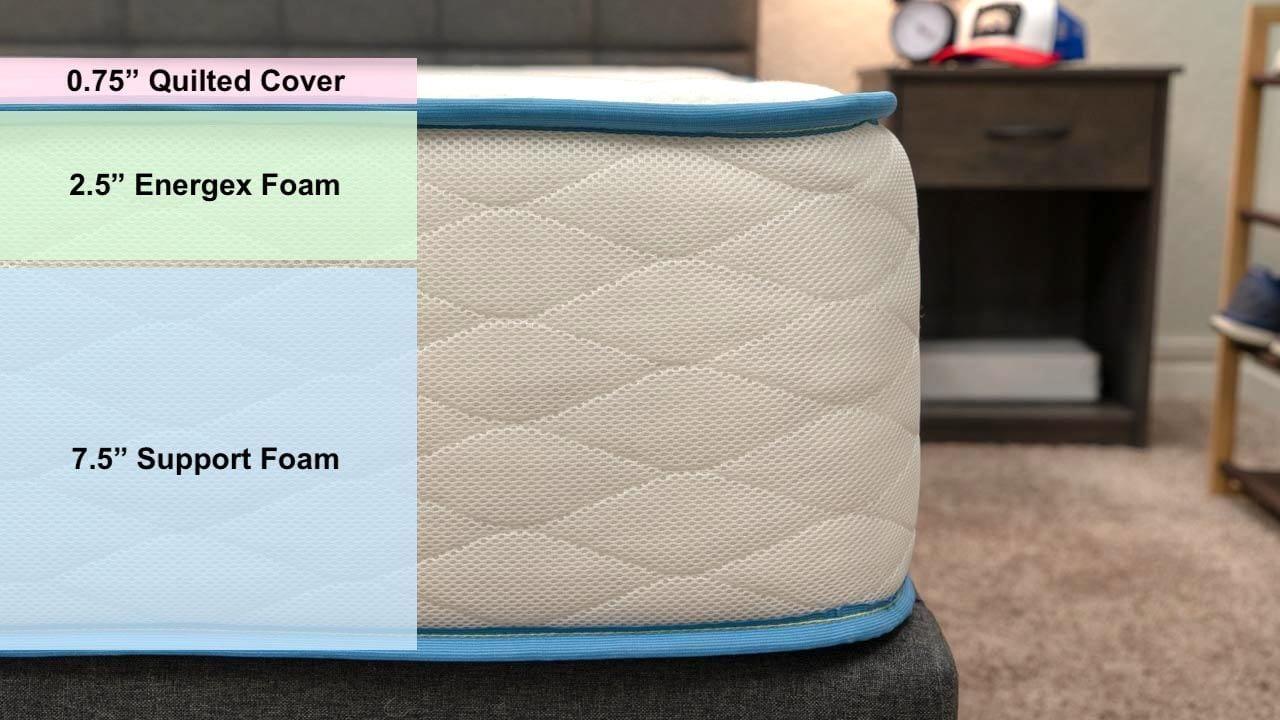 dreamfoam bedding mattress review arctic dreams bed amazon