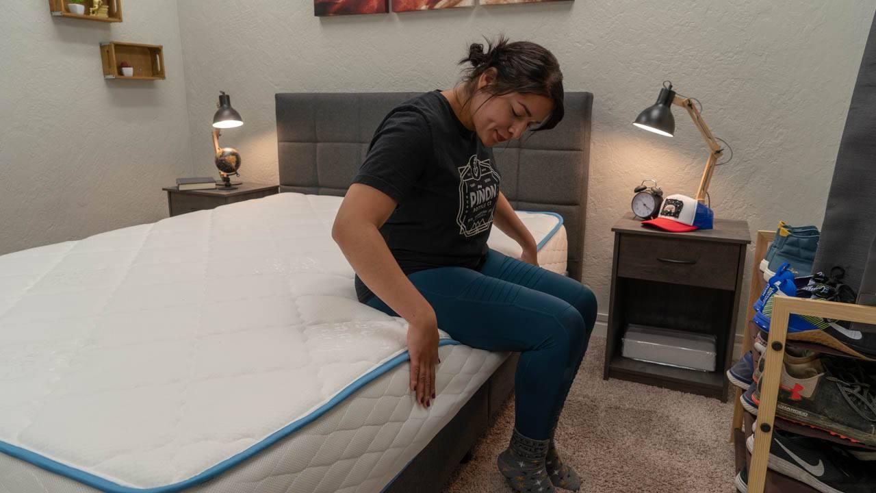 dreamfoam bedding mattress review arctic dreams bed amazon edge support