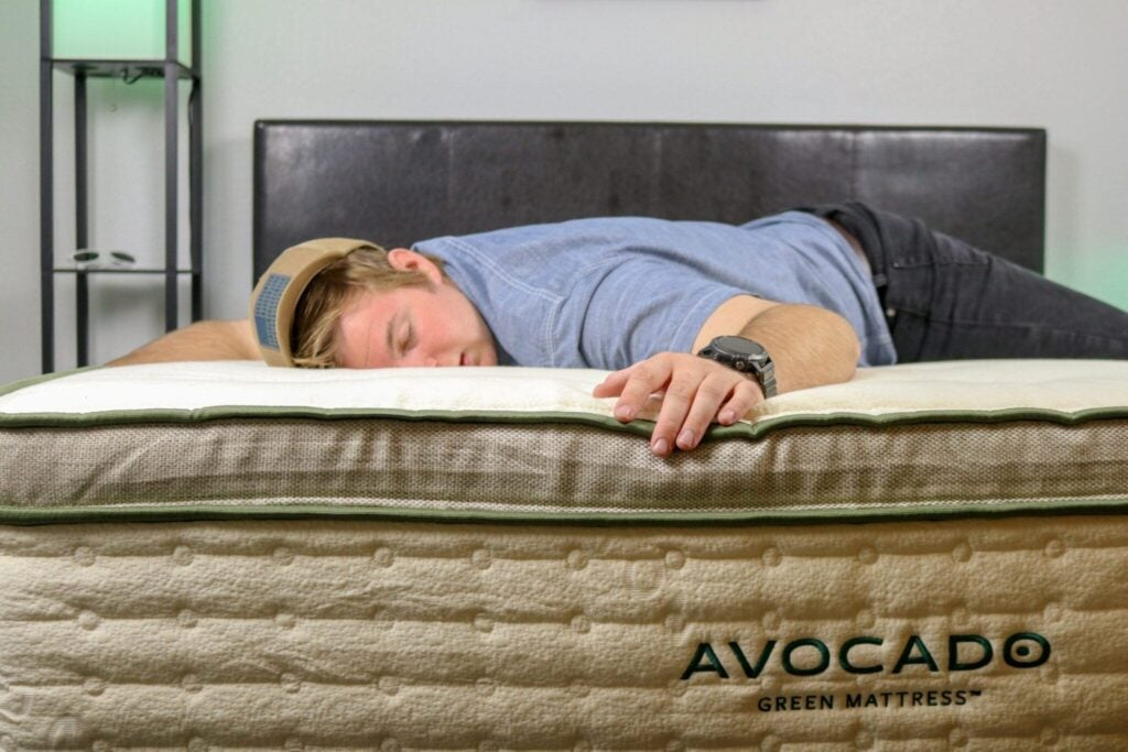 Avocado Mattress Review Comparison stomach sleeper