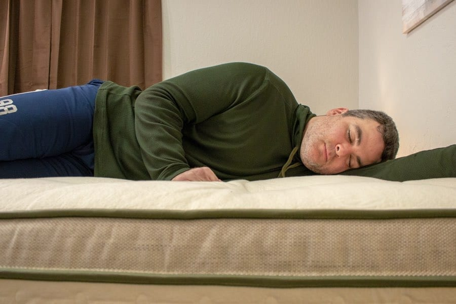 avocado green mattress review heavy side sleepers