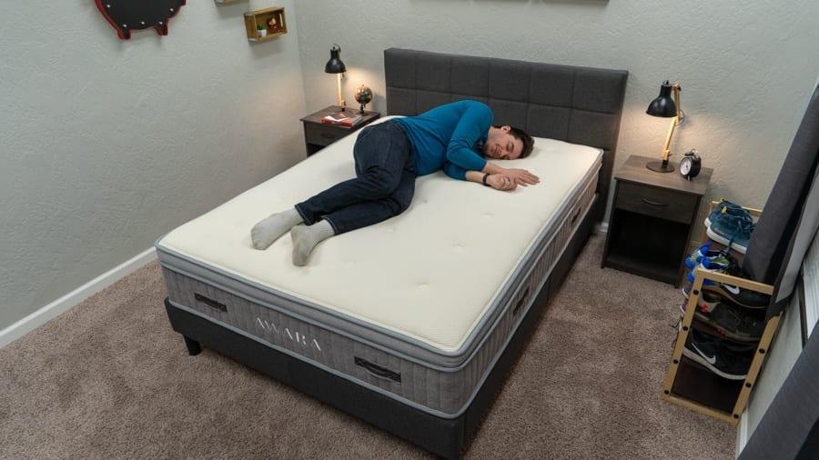 awara mattress review combo sleeper