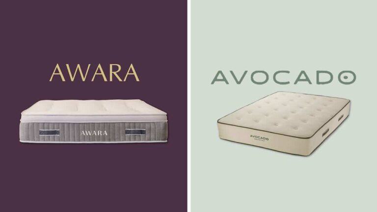 Awara vs Avocado Green Mattress Comparison