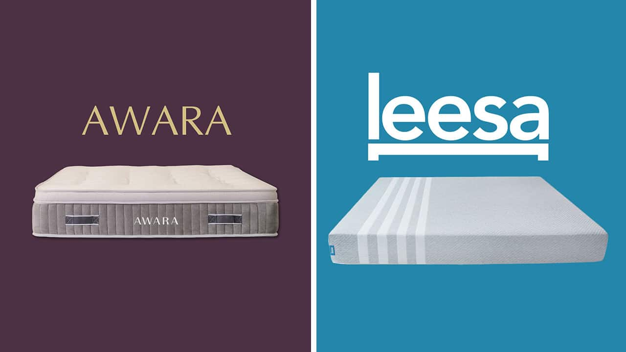 Awara Vs Leesa Online Mattress Comparison 2020 Update