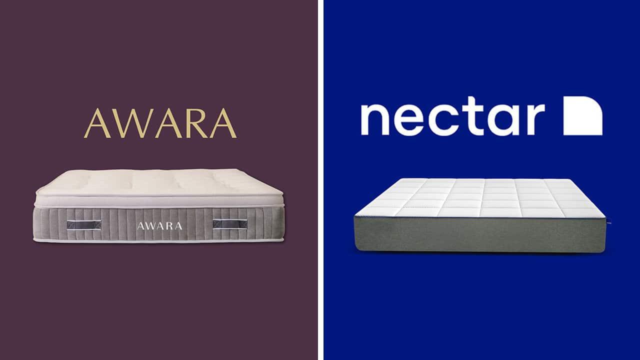 Awara vs Nectar Mattress