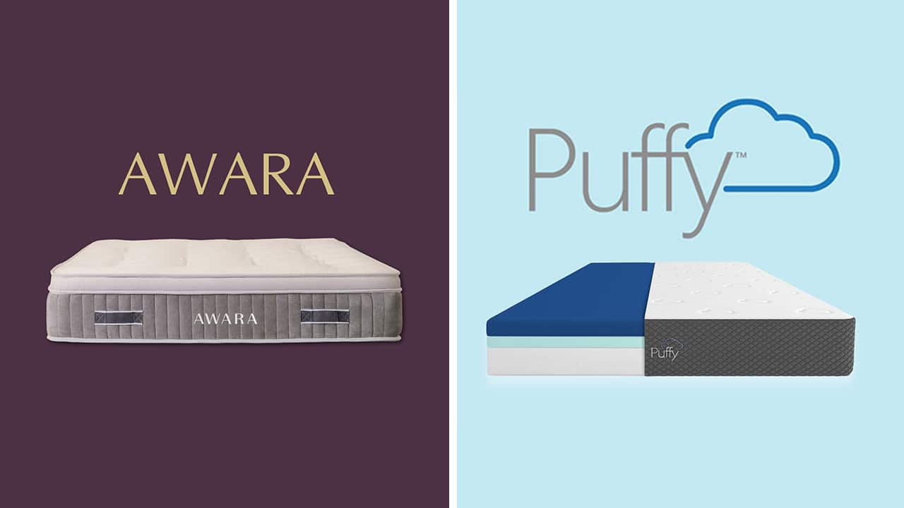 Awara vs Puffy Mattress