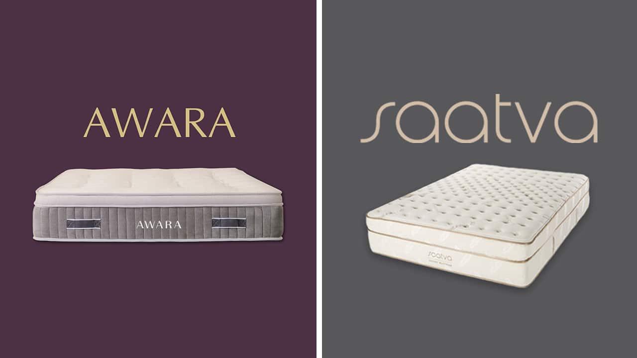 Awara vs Saatva Mattress