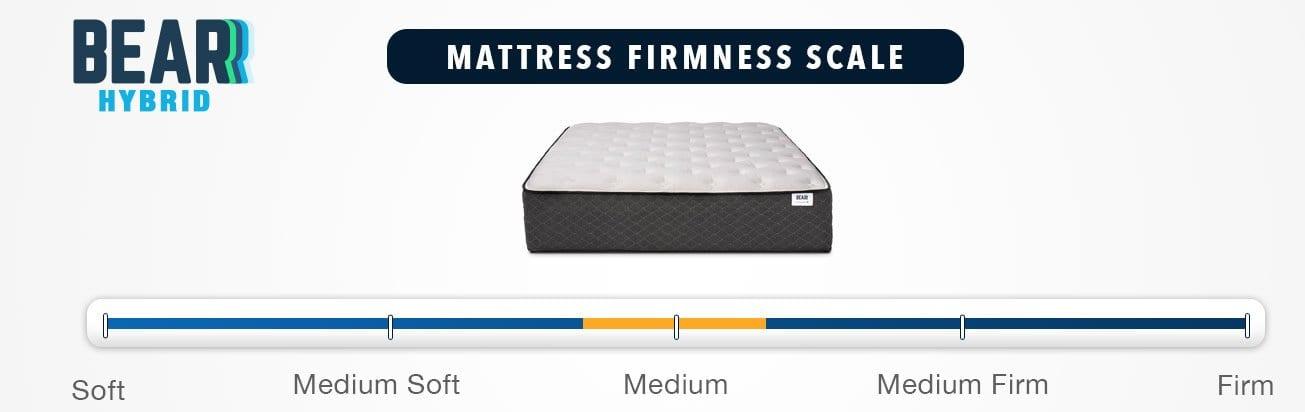 bear hybrid mattress firmness