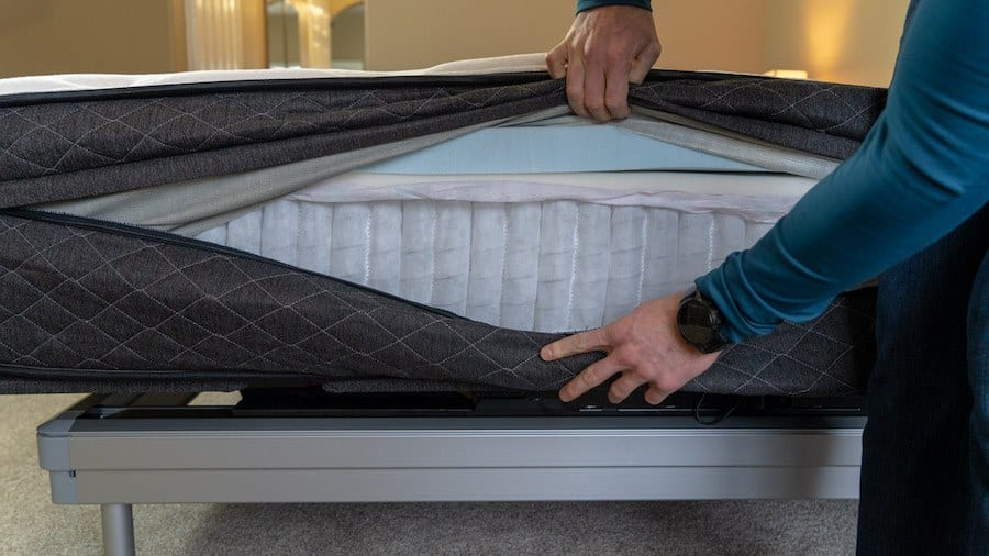 bear hybrid mattress review construction