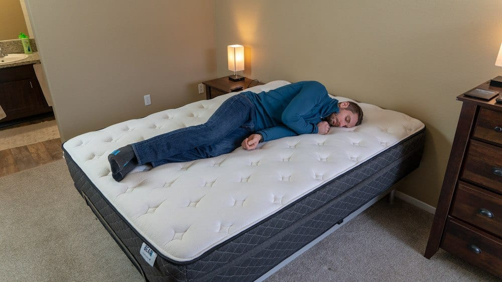bear hybrid mattress review side sleepers