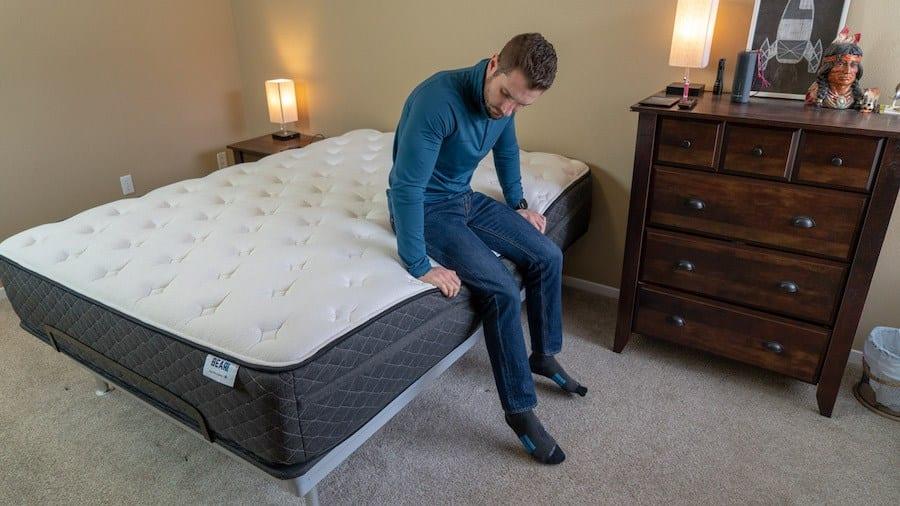 bear hybrid mattress review side sleepers