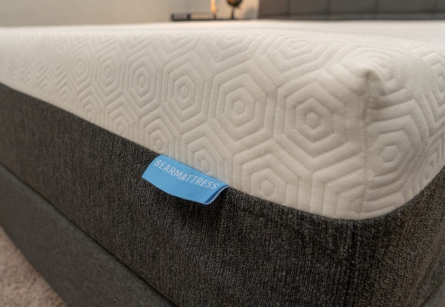 bear mattress review tag logo deal