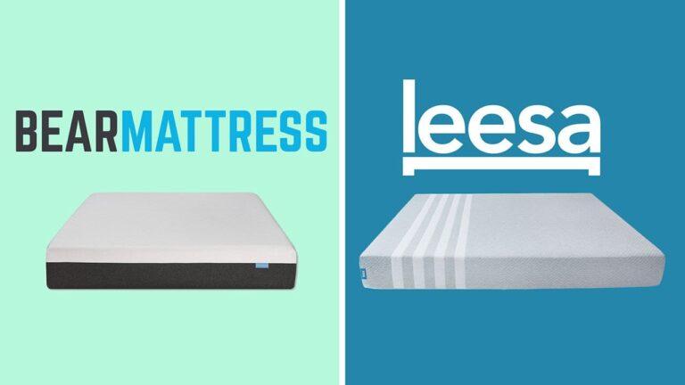 Bear Mattress vs Leesa
