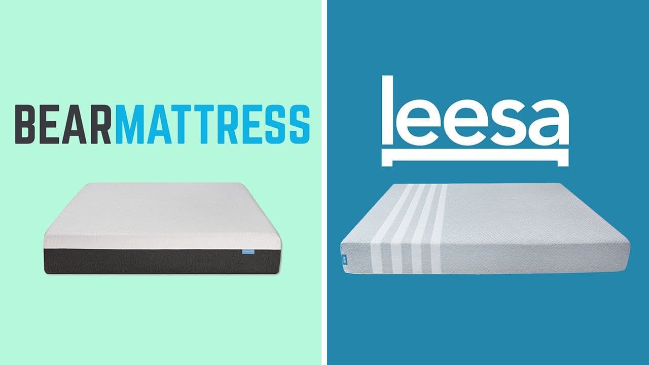 bear mattress vs leesa review