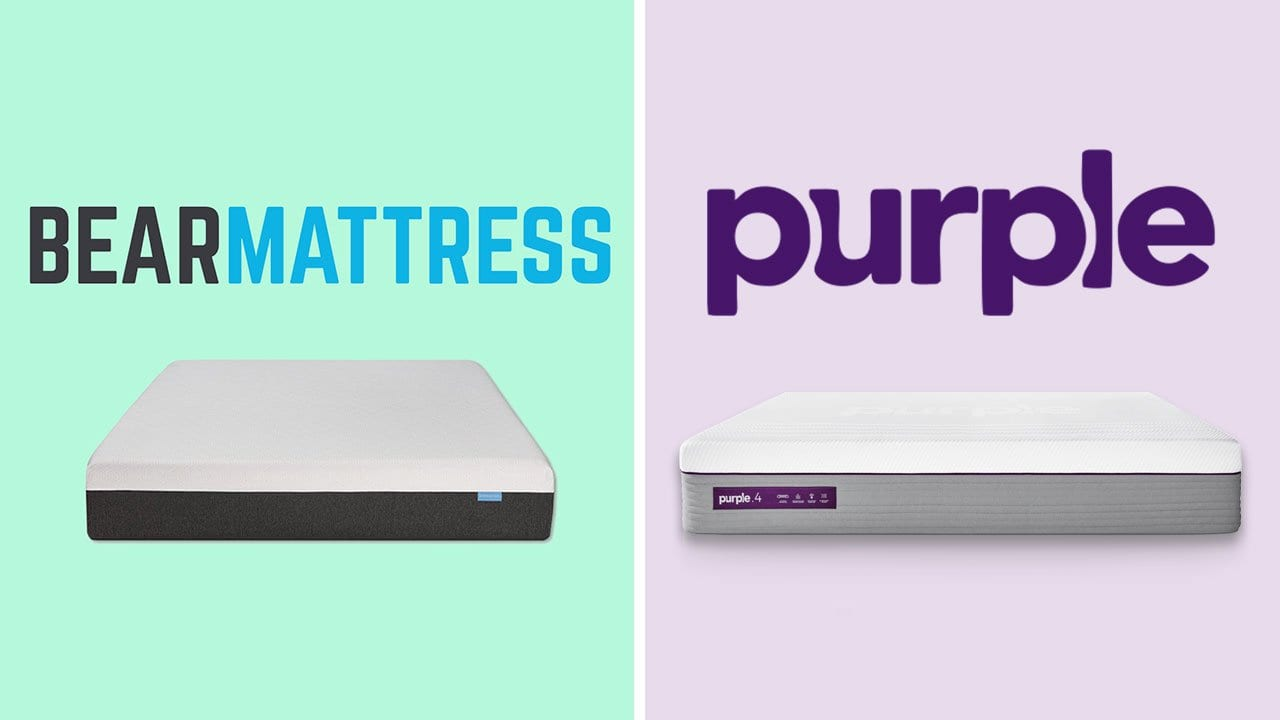 Bear Mattress vs Purple