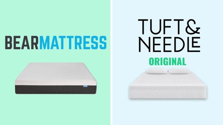 Bear vs Tuft and Needle Mattress