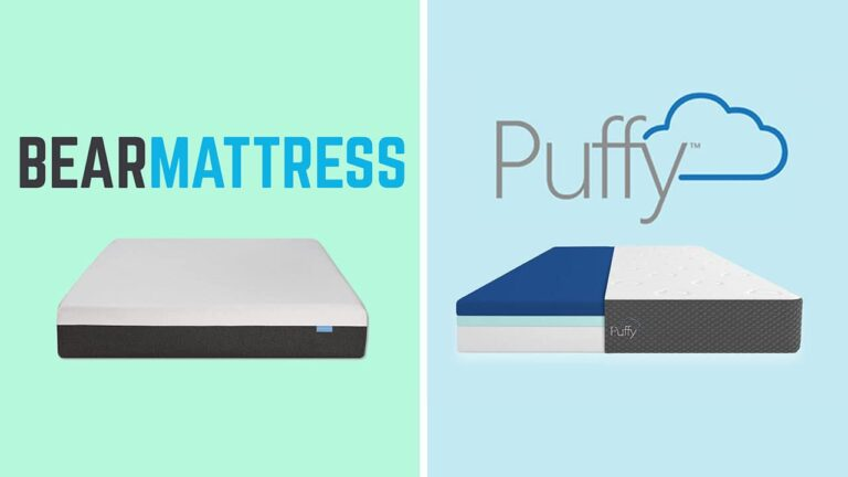 Bear Mattress vs Puffy