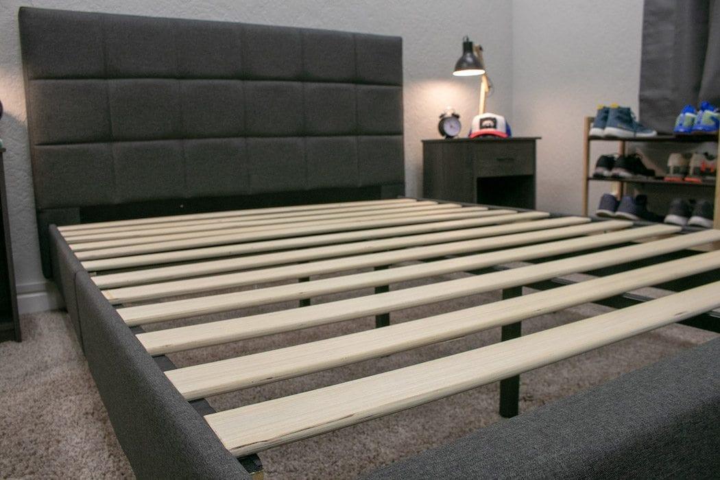 zinus lottie bed frame review