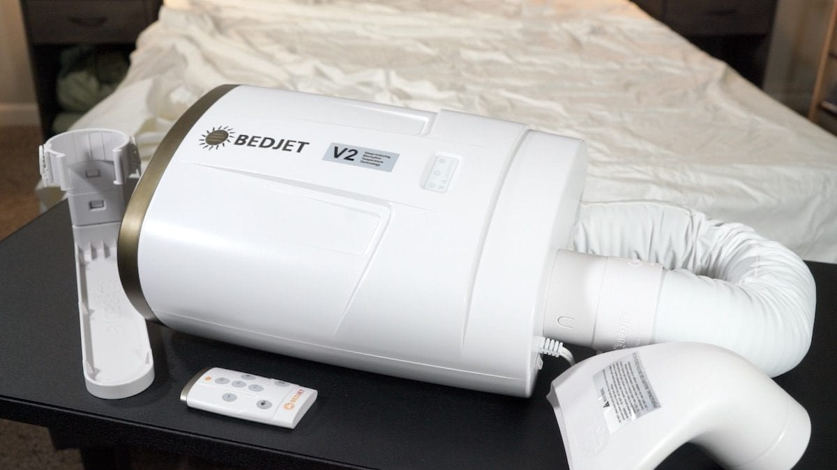 bedjet review bed jet review heating cooling system for mattress system