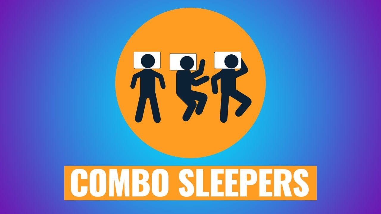 best mattress for combo sleepers and combination sleepers