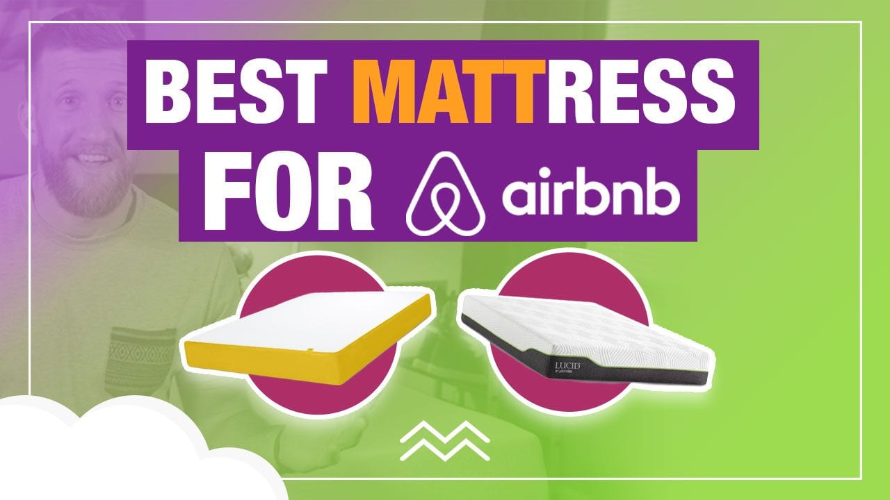 best mattress for airbnb vacation rental