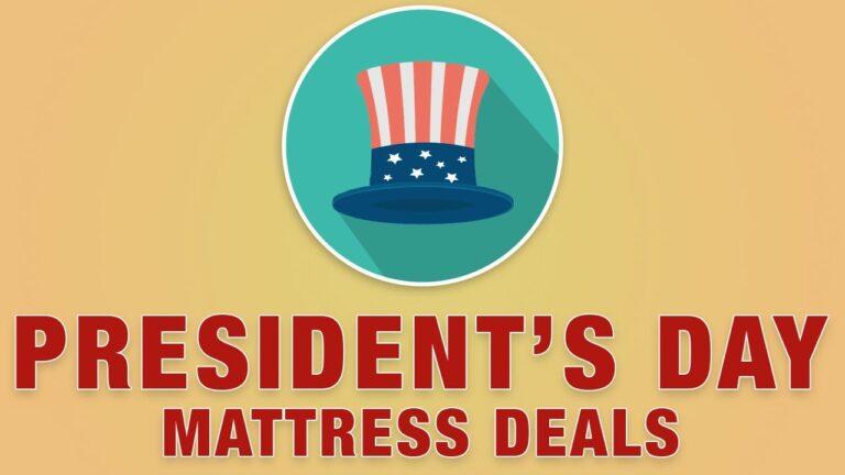 Best Presidents Day Mattress Deals, Sales & Discounts