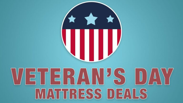 Best Veterans Day Mattress Deals, Sales & Discounts
