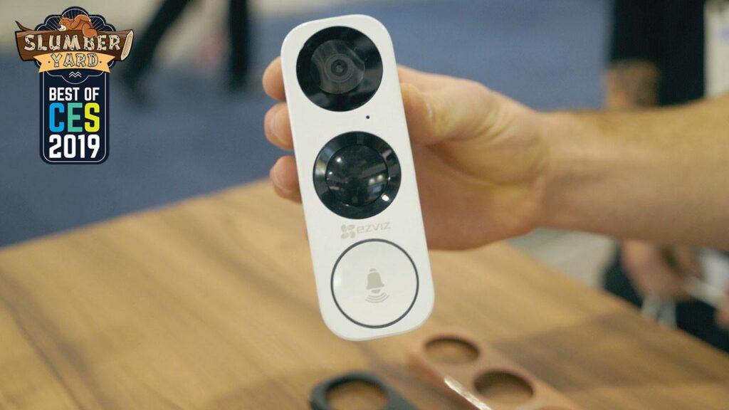 smart doorbell CES video
