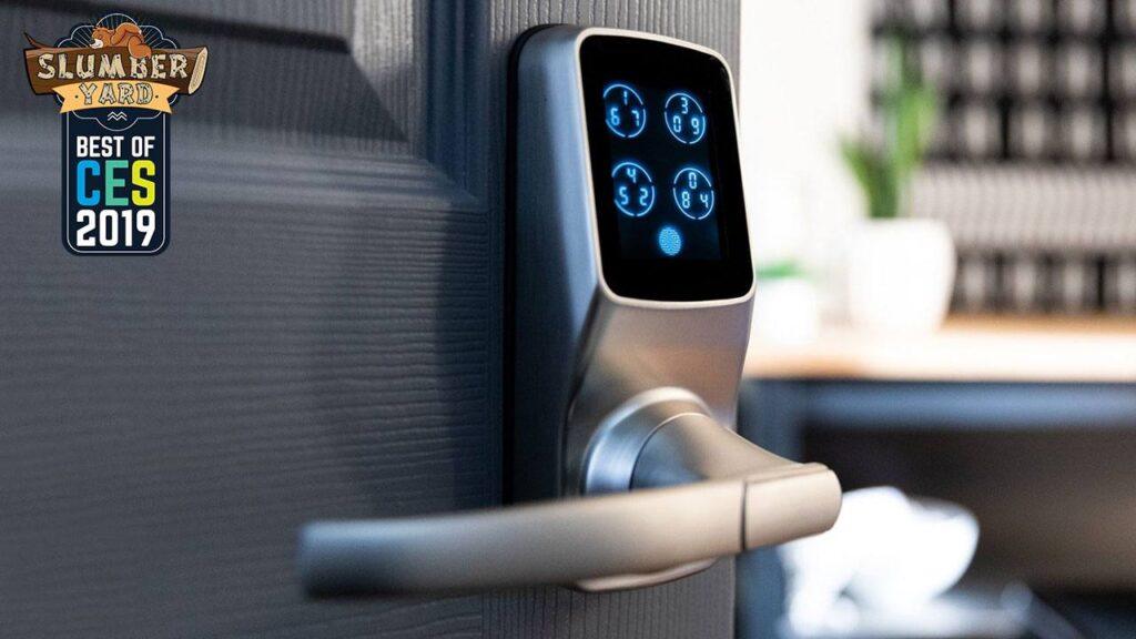 Lockly Secure Pro door lock CES