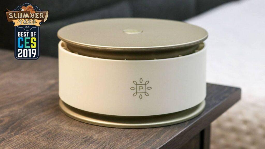 pure company air purifier portable essential oils CES