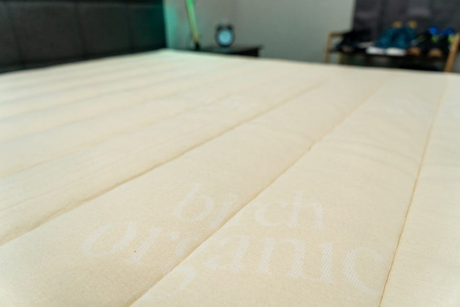 Birch mattress cover