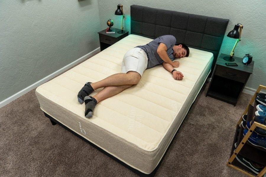 Owen Birch Mattress side sleeper