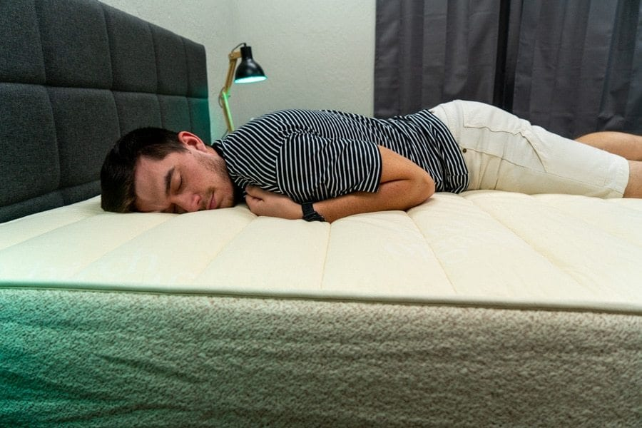 Owen Birch Mattress stomach sleeper