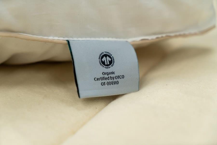 Birch Pillow Review certified Organic