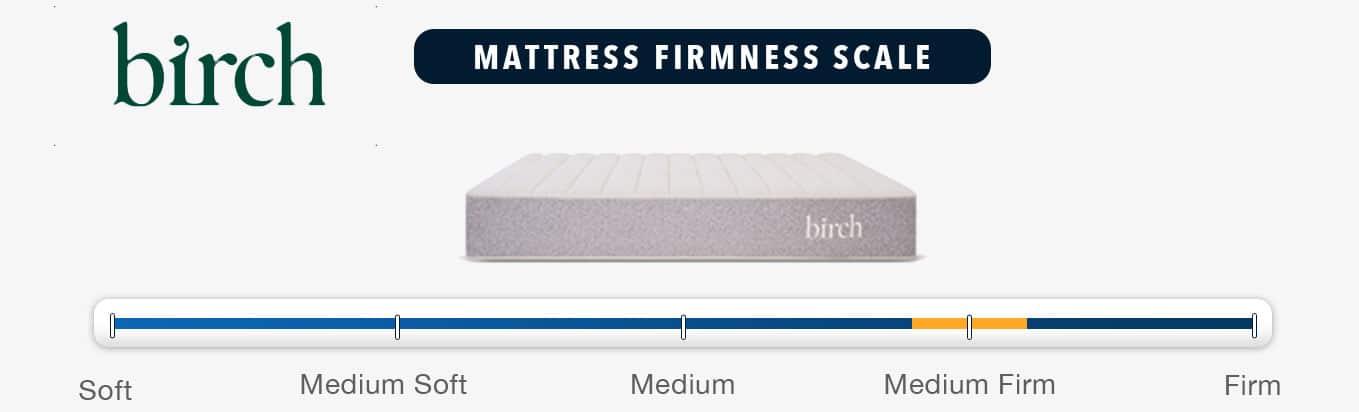 birch mattress firmness