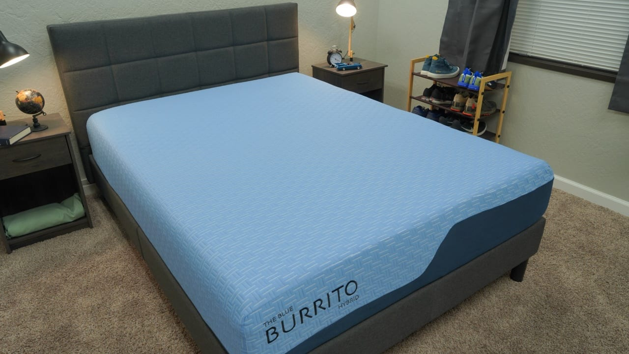 blue burrito mattress review overview