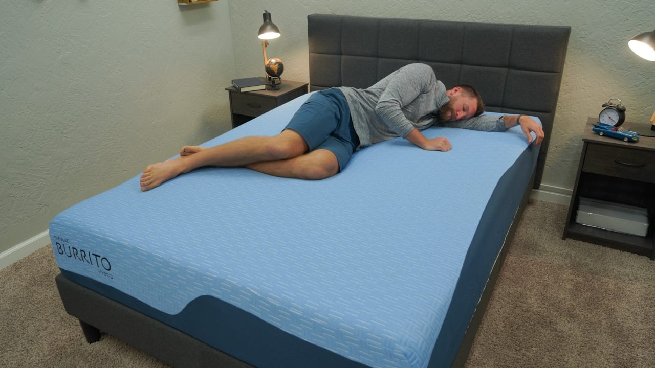 blue burrito mattress review side sleepers