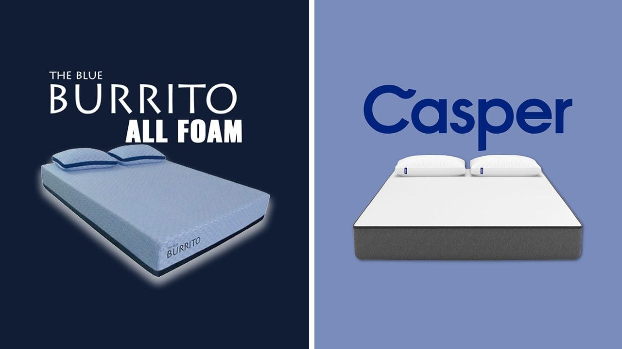 Blue Burrito Vs Casper Bed In A Box Review Updated